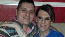 Vicky Thompson & boyfriend Robert Steele