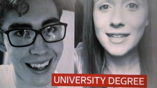 Ryan Sharman and Laima Canns have been sharing their university life through video diaries