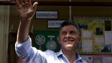 Mauricio Macri has won Argentina's presidency, according to exit polls