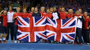 Great Britain is competing in its first Davis Cup final since 1978.