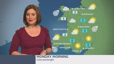 Wales weather: A cold and frosty start
