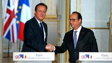 Cameron: UK will do 'all in our power' to help France in fight against IS