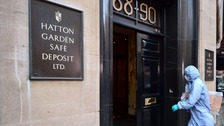 Hatton Garden jewellery heist 'largest in English history'