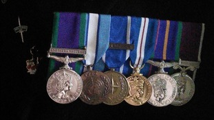 Former soldier 'disgusted' after home ransacked and medals stolen