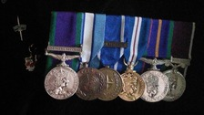 Former soldier 'disgusted' after medals stolen