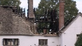 Historic house hit by lightning 