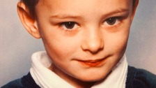 Sam Walker was knocked down and killed while crossing the road with his family in 2003