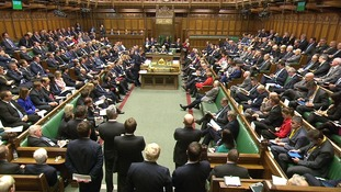 David Cameron speaks in the Commons
