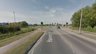 The intersection between the A19 and Haverton Hill Road