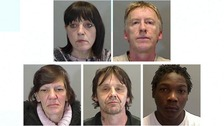 Fine people have been jailed for a total of 16 years after a major drugs operation in Norfolk.