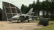 A Tornado aircraft based at RAF Marham in west Norfolk.
