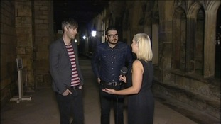 Jaff and Ross speak to ITV Tyne Tees