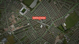 Police are investigating a reported shooting on Anfield Road in Liverpool