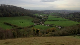 Developers have submitted a controversial plan to build homes on the green field near Stroud.