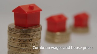 The cost of houses is in stark contrast to average wages