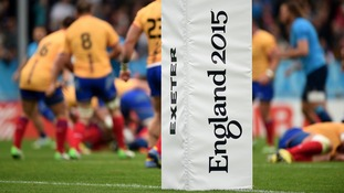 Exeter's Rugby World Cup volunteers to be thanked by England players