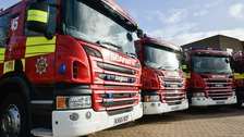 The new fleet of fire appliances will be in service in Bedfordshire within weeks