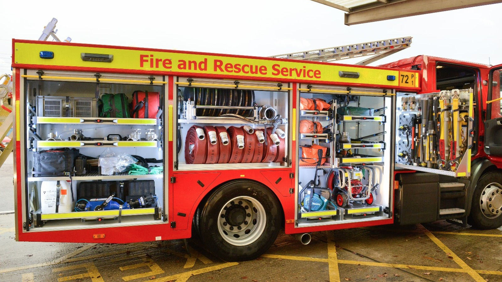 New Fleet Of Fire Engines Heading To Bedfordshire Anglia