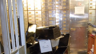 Woolwich Crown Court heard where stolen goods from vault raid were stashed.
