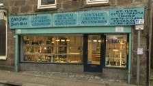 Little Jems jewellers in St Ives was targeted by thieves over the weekend