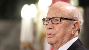 Tunisian president Beji Caid Essebsi.