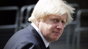 Boris Johnson tells ITV News he supports a banned terror group