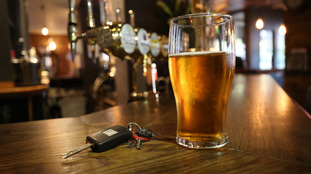 Beer and car keys