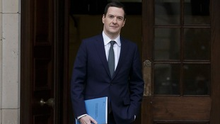 Chancellor George Osborne heads to Parliament.