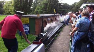 Railway, Mote park, Maidstone