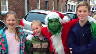 The Grinch in Carlisle.
