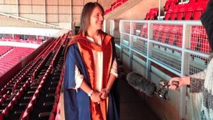 Katy Mclean's Sunderland University fellowship honour