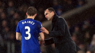 Leighton Baines could return from injury for Everton against Bournemouth
