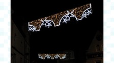 Penzance Christmas lights