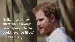 Prince Harry opens African charity building named after mother Diana