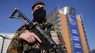Brussels has been on lockdown for almost a week.
