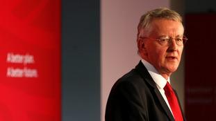Hilary Benn will not resign, despite backing airstrikes, he said