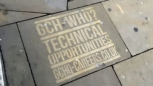 GCHQ could be fined for spraying graffiti messages on pavements to attract new recruits