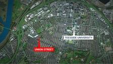 Union Street Map