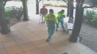 CCTV shows fake paramedics in drug smuggling operation