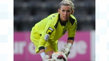 Carly Telford in action for Notts County