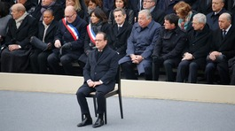 Paris attacks: France falls silent to remember 130 victims