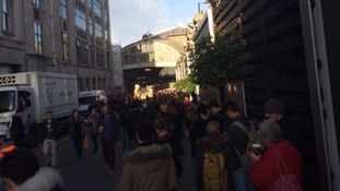 Delays at Paddington after station evacuated