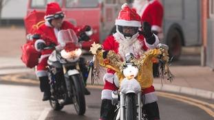 More Santas.