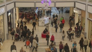 The Metrocentre on Saturday.