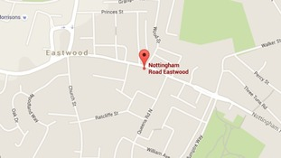 Nottingham Road in Eastwood is where the robbery happened