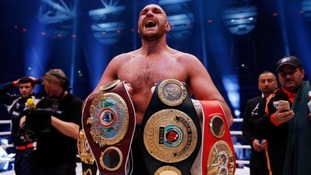 And the New! Tyson Fury wins world Heavyweight title