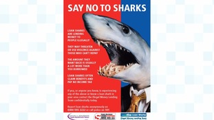Poster campaign warns against loan sharks
