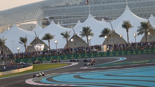 Rosberg wins final F1 race of season in Abu Dhabi ahead of Hamilton