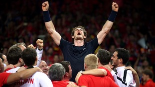 Tributes flood in for Murray and GB after Davis Cup triumph