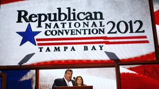 New Jersey Governor Chris Christie at the 2012 Republican National Convention